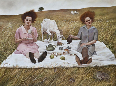 Andrea Kowch, 'Tea -Limited Edition Signed Print', 2018
