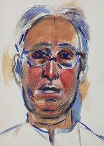 K. G. Subramanyan, 'Self portrait', 1989