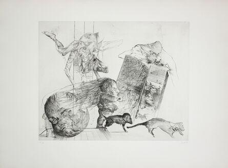 Dado, 'Le Puisatier I', 1974
