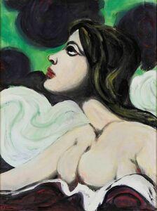 Pompeo Borra, 'Donna tra le nuvole'