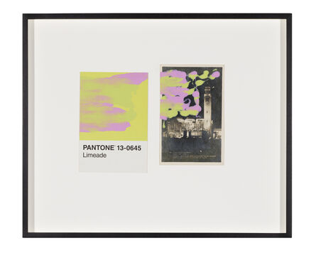 Tacita Dean, 'Pantone Pair (Limeade)', 2019