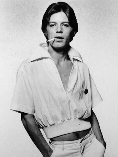 Terry O'Neill, 'Mick Jagger, Cigarette', 1975