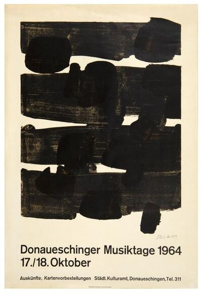 Pierre Soulages, 'Lithographie n°12', 1964