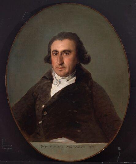 Francisco de Goya, 'Martín Zapater', 1797