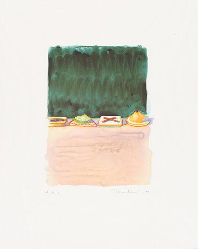 Wayne Thiebaud, 'Hors d'Oeuvres', 1994