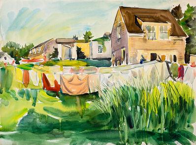 Edward Christiana, 'Fred Wiley's Studio With Wash', 1982
