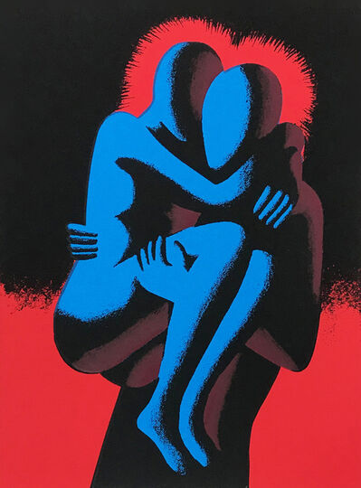 Mark Kostabi, 'HEARTSHARE', 1993