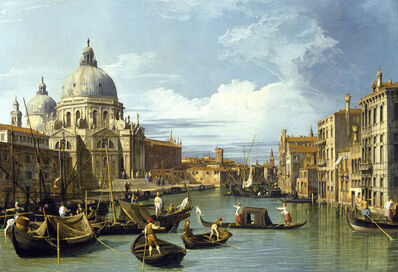 Canaletto, 'Entrance to the Grand Canal', 1730