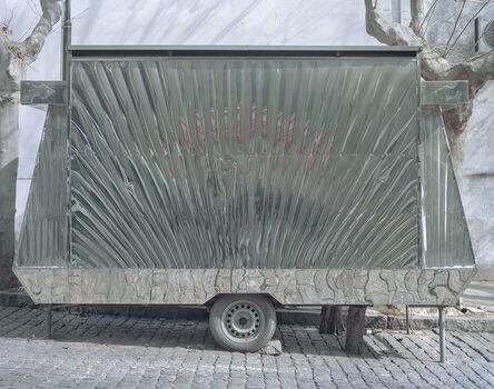 Jim Dow, 'Rear of Closed Carrito, Colonia del Sacramento, Department of Colonia, Uruguay', 2010