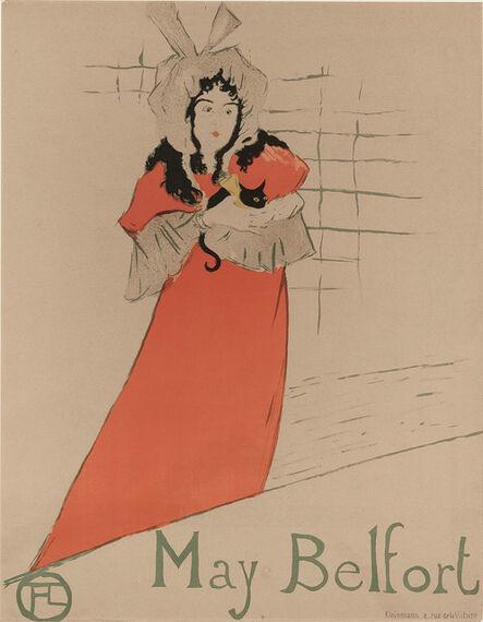 Henri de Toulouse-Lautrec, 'May Belfort (D. 354; A. 116; W. P14)', 1895