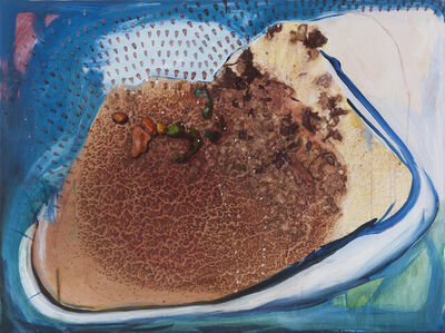 Marsha Nouritza Odabashian, 'The Velocity of a Stone Landing in a Hopscotch Polygon', 2021