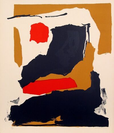 Esteban Vicente, 'Untitled (E.V. #4)', 1965