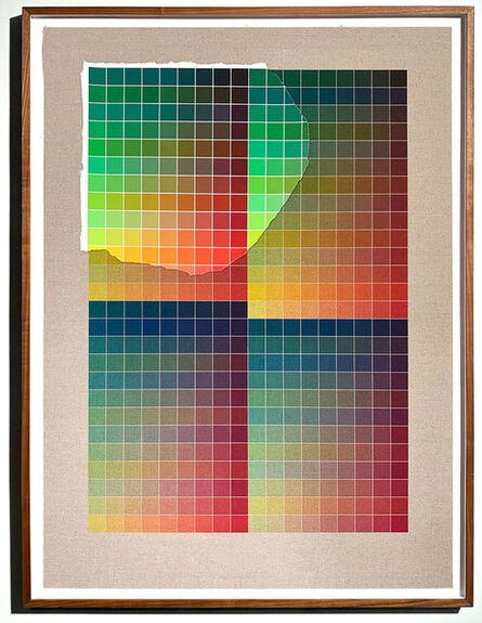 Analía Saban, 'Transcending Pigment from Paint to Canvas, from Canvas to Paint (Color) #2', 2020