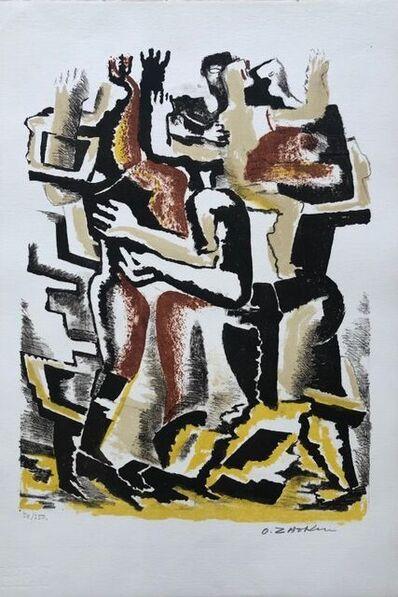 Ossip Zadkine, 'Couple ', ca. 1970