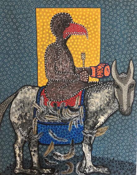Ousmane Niang, 'Jeux de cartes', 2020