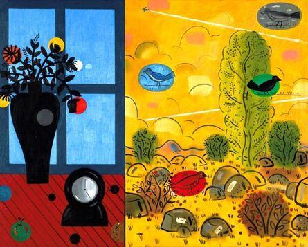 Richard Thompson, 'Blue Window'