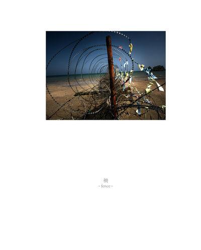 Osamu James Nakagawa, 'fence', 2001-2009