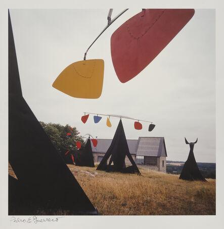 Pedro E. Guerrero, 'Calder Studio Exterior with Mobiles, Saché, France ', 1964