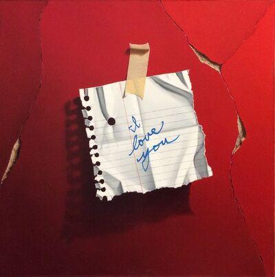 Otto Duecker, 'I Love You Red'