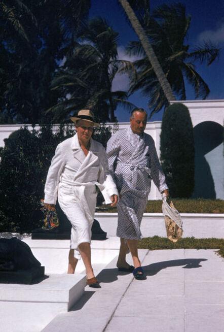 Slim Aarons, 'Pool-Bound Guests', 1955