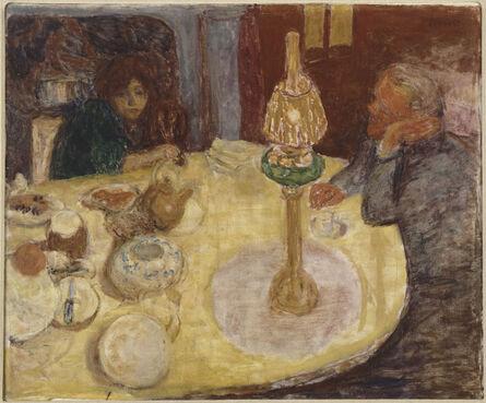 Pierre Bonnard, 'La Soirée sous la lampe (Evening By Lamplight)', 1921