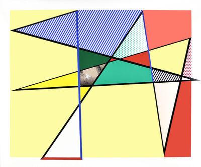 Roy Lichtenstein, 'Imperfect Print 67'' x 79 7/8'', from: Imperfect Series ', 1988