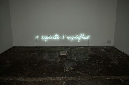 Rubens Mano, 's-titulo_[oespirito é superfluo]', 2011