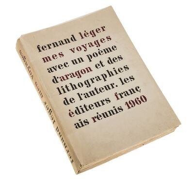 Fernand Léger, 'Mes Voyages', 1960