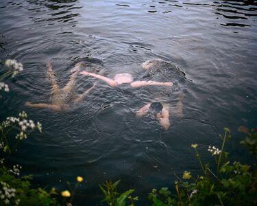 Sian Davey, 'Girls swimming at dusk', 2015-2016