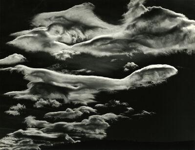Brett Weston, 'Clouds', 1968