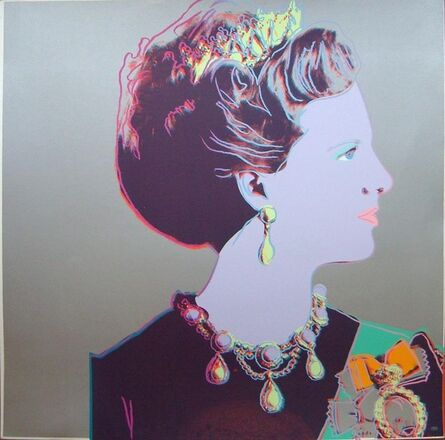 Andy Warhol, 'Queen Margrethe', 1985