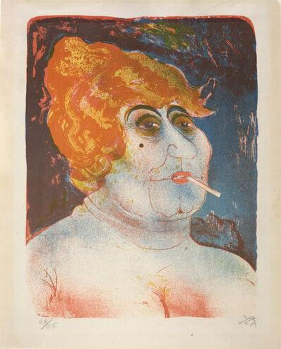 Otto Dix, 'The Madam', 1923