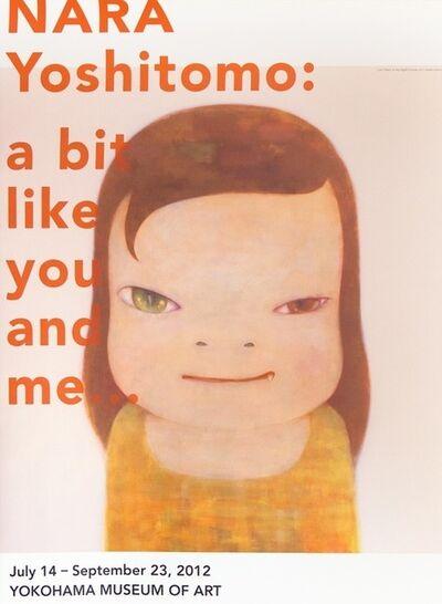"""Yoshitomo Nara, 'Poster of """"NARA YOSHITOMO: a bit like you and me...""""', 2012"""
