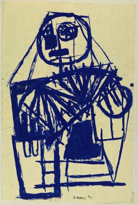 Karel Appel, 'Le Joueur d'Harmonica ', 1947