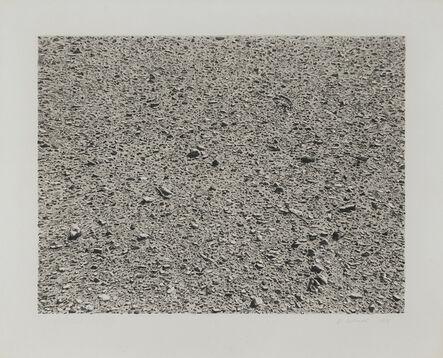 Vija Celmins, 'Untitled (Desert)', 1975