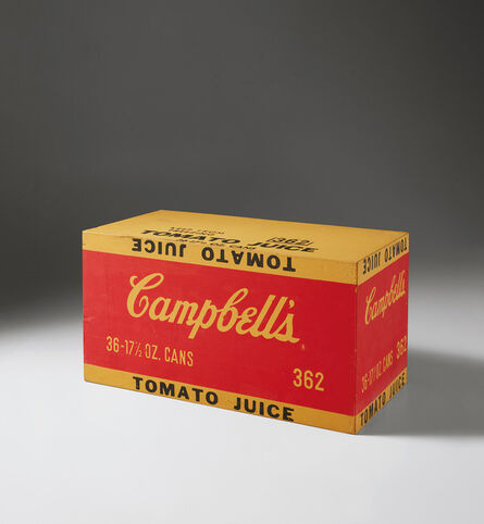 Andy Warhol, 'Campbell's Tomato Juice Box', 1964