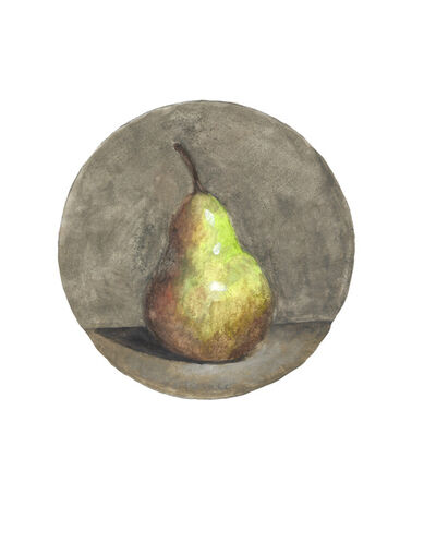 Robert Kulicke, 'Pear on Light Grey Background', n.d.