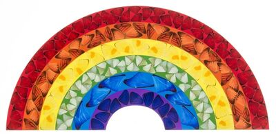 Damien Hirst, 'H7-4 Butterfly Rainbow (Small)', 2020