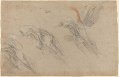 Baldassare Franceschini, 'Drapery Studies [recto]', late 1650s