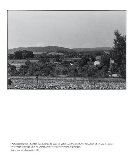 Seiichi Furuya, 'Staatsgrenze 1981-1983 (Loipersbach)', 2016