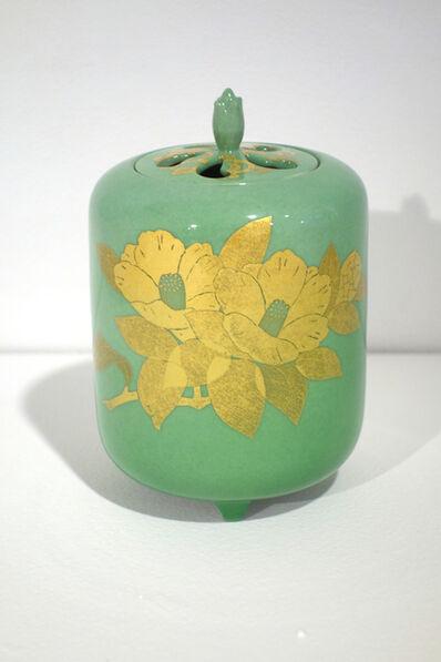 Yoshita Minori, 'Incense Burner with Camellia Patterns', 2014