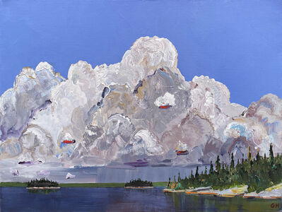 Gregory Hardy, 'Swirling Clouds ', 2021