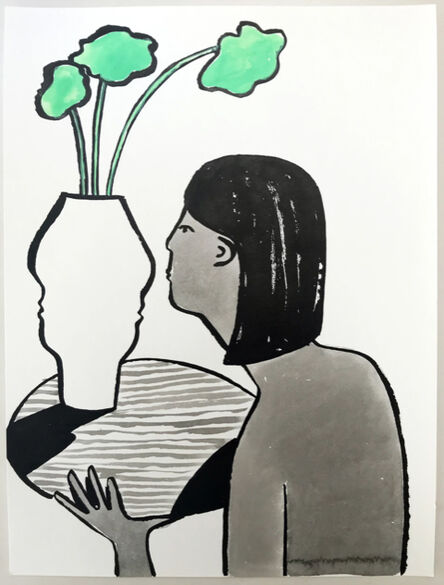 Carissa Potter, 'Vase and Woman ', 2018