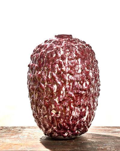 Morten Løbner Espersen, 'Blood Moon Jar #2', 2015
