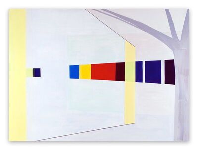 Laura Newman, 'Glass Wall (Abstract Expressionism painting)', 2009