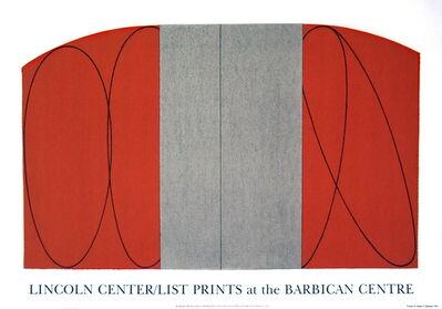 Robert Mangold (b.1937), 'Red/Gray Zone', 1997