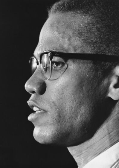 Ben Martin, 'MALCOLM X PROFILE MARCH 12, 1964 PRESS CONFERENCE PARK SHERATON NYC TIME'