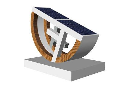 Steven Lowy, 'T-Square 200, Solar Sculpture', 2019