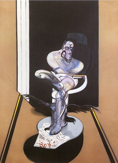 Francis Bacon, 'Seated Figure', 1977