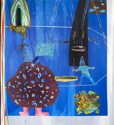 Nicolas Ranellucci, 'Bleu Silence D'or', 2013